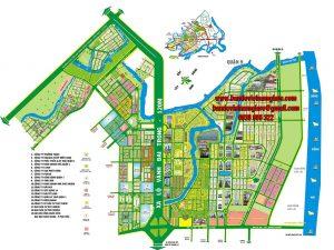 Bản đồ tổng thể Bình Trưng Đông – Cát Lái – Q2 – TPHCM