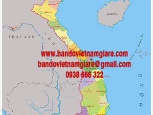 Bán bản đồ Việt Nam và bản đồ Thế Giới khổ lớn treo tường