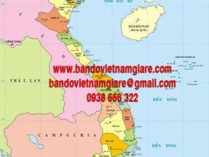Nơi bán bản đồ Việt Nam khổ lớn uy tín tại TPHCM