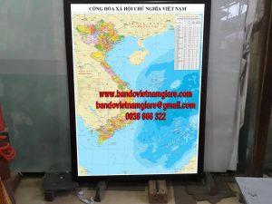 Bán bản đồ treo tường giá rẻ tại TPHCM và các tỉnh lân cận