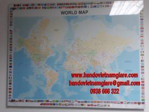 Cửa hàng bán bản đồ các nước trên thế giới khổ lớn uy tín
