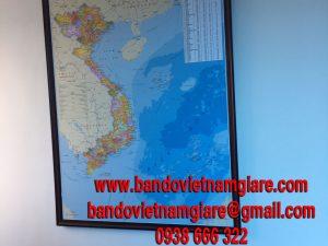 Mua bản đồ Việt Nam treo tường ở đâu tại TPHCM