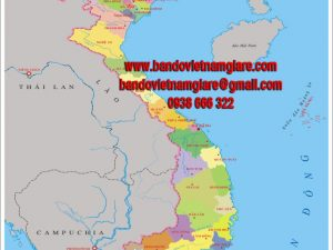 Bản đồ Việt Nam khổ lớn mẫu 5