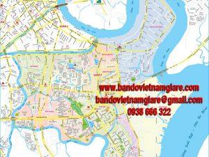 Bản đồ giao thông quận 7 TPHCM khổ lớn