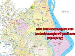Bản đồ giao thông quận 9 TPHCM khổ lớn