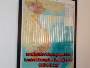 Thay thế tranh treo tường bằng bản đồ Việt Nam treo tường