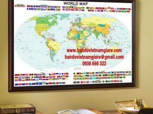 Địa điểm bán bản đồ khổ lớn và bản đồ treo tường uy tín