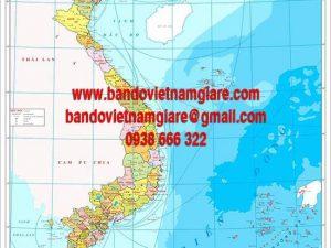 Mua bản đồ Việt Nam khổ lớn chất lượng ở đâu tại TPHCM