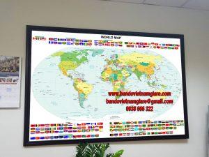 Mua bản đồ Việt Nam và bản đồ Thế Giới khổ lớn ở đâu