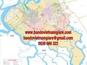 bản đồ giao thông huyện nhơn trạch tỉnh đồng nai khổ lớn