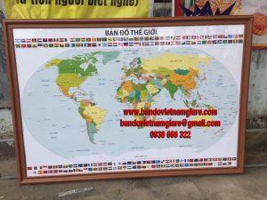 Mua bản đồ Thế Giới tiếng Việt khổ lớn ở đâu?