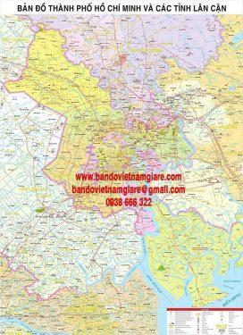 mua bản đồ hành chính thành phố hồ chí minh khổ lớn ở đâu