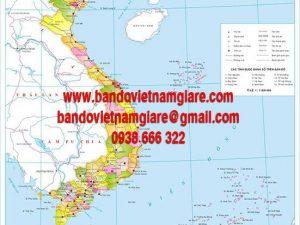 Nơi bán bản đồ Việt Nam khổ lớn giá rẻ uy tín tại TPHCM