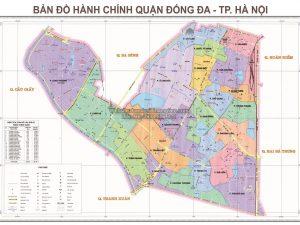 Bản Đồ Quận Đống Đa Thành Phố Hà Nội