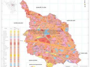 Bản Đồ Quy Hoạch Quận Nam Từ Liêm Thành Phố Hà Nội